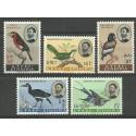 Etiopia 1962 Mi 425-429 Czyste **