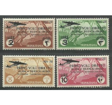 Znaczek Libia Włoska 1934 Mi 198-201(Tripoli) Czyste **