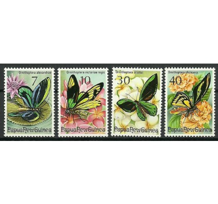 Znaczek Papua Nowa Gwinea 1975 Mi 288-291 Czyste **