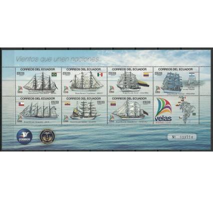 Znaczek Ekwador 2014 Mi ark 3579-3585 Czyste **