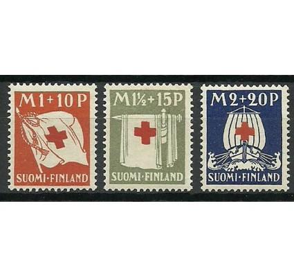Znaczek Finlandia 1930 Mi 158-160 Z podlepką *