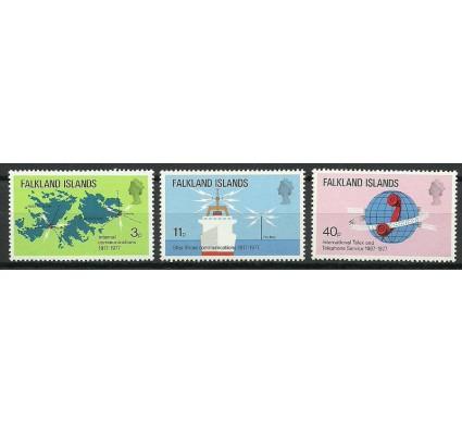 Znaczek Falklandy 1977 Mi 252-254 Czyste **