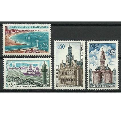 Znaczek Francja 1967 Mi 1591-1594 Czyste **