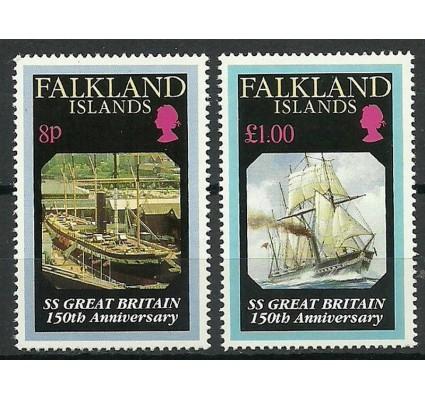 Znaczek Falklandy 1993 Mi 592-593 Czyste **