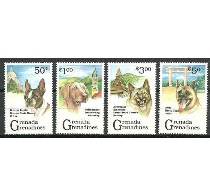 Znaczek Grenada i Grenadyny 1993 Mi 1665+67-68+1671 Czyste **