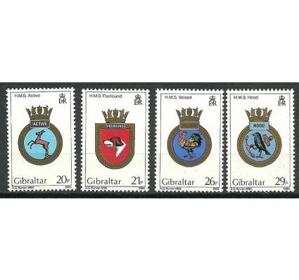 Znaczek Gibraltar 1984 Mi 481-484 Czyste **