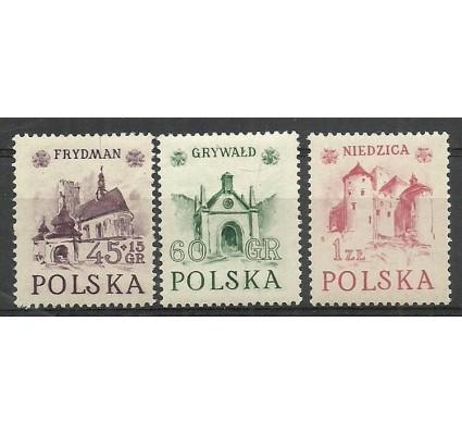 Polska 1952 Mi 767-769II Fi 629-631 Czyste **