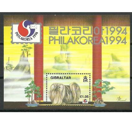 Znaczek Gibraltar 1994 Mi bl 20 Czyste **