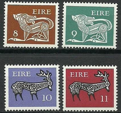 Znaczek Irlandia 1976 Mi 346-349 Czyste **