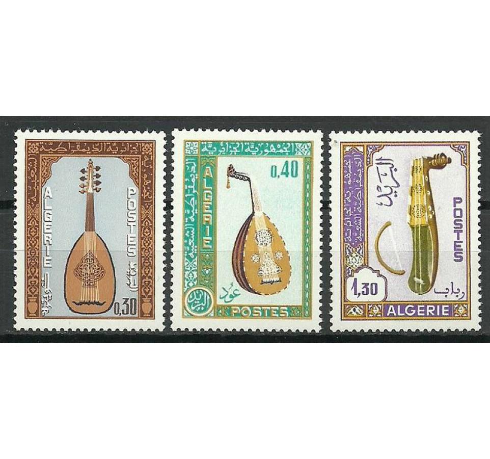 Algieria 1968 Mi 493-495 Czyste **