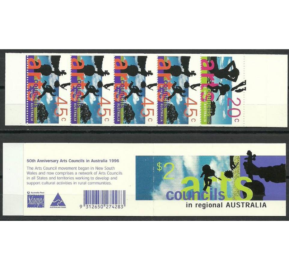 Australia 1996 Mi mh 107C Czyste **