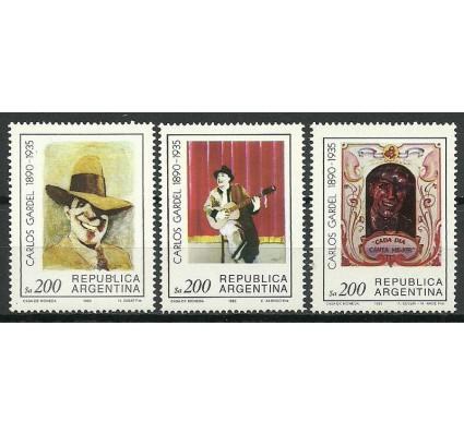 Znaczek Argentyna 1985 Mi 1740-1742 Czyste **