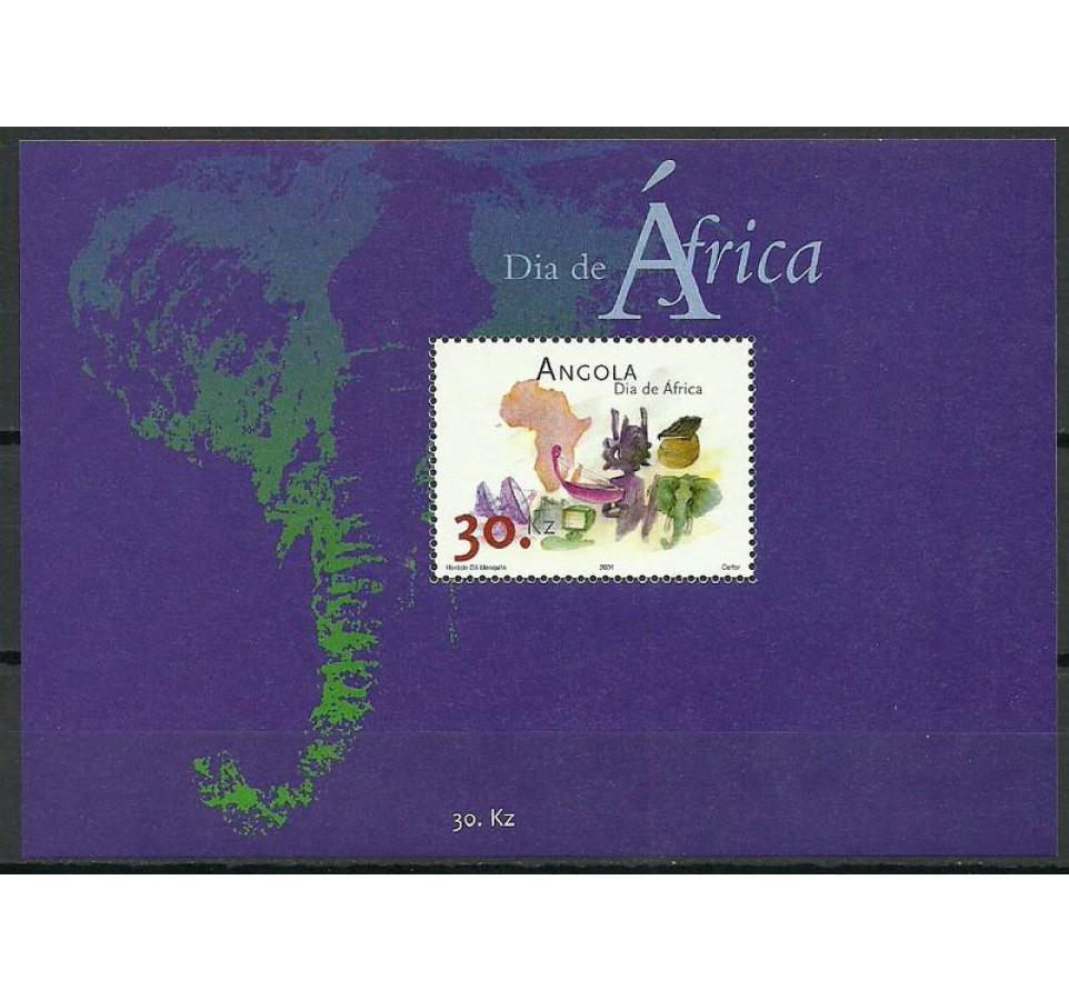 Angola 2001 Mi bl 93 Czyste **