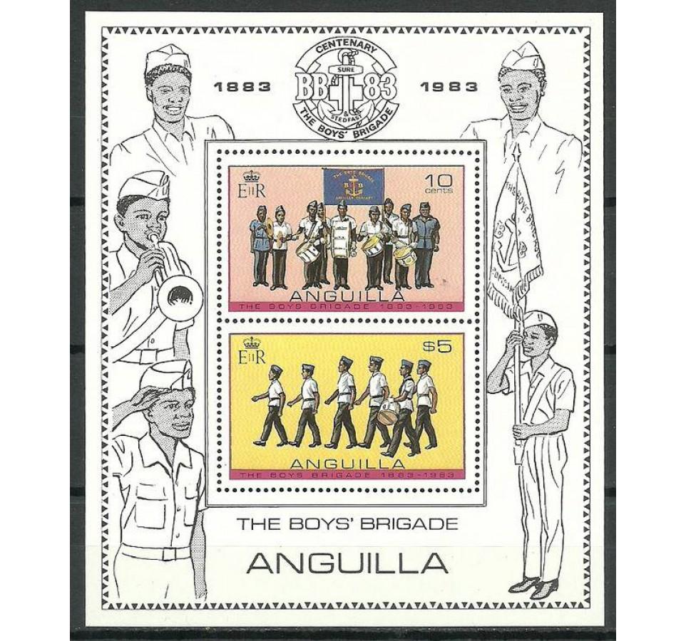 Anguilla 1983 Mi bl 51 Czyste **