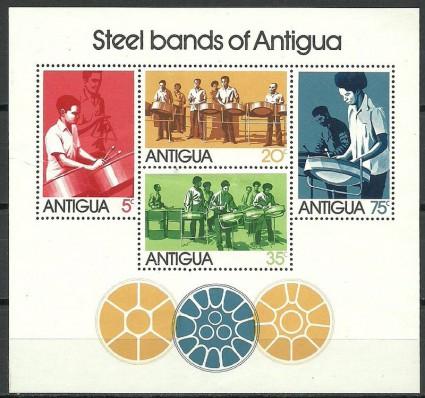 Znaczek Antigua i Barbuda 1974 Mi bl 14 Czyste **