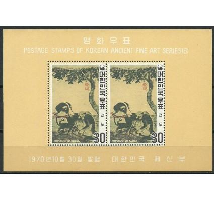 Znaczek Korea Południowa 1970 Mi bl 316 Czyste **