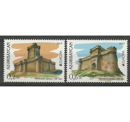 Znaczek Azerbejdżan 2017 Mi 1193-1194 Czyste **