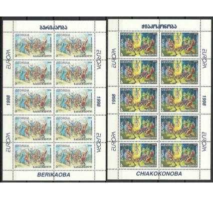 Znaczek Gruzja 1998 Mi ark 296-297 Czyste **