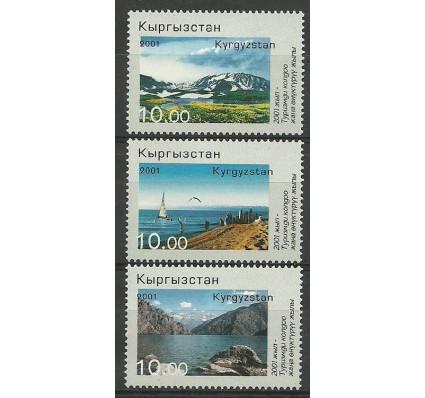 Znaczek Kirgistan 2001 Mi 241-243 Czyste **