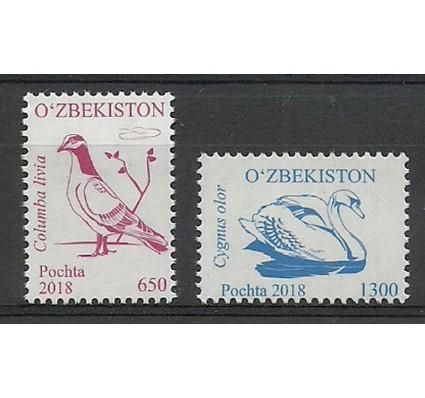 Znaczek Uzbekistan 2018 Mi (1304-1303) Czyste **