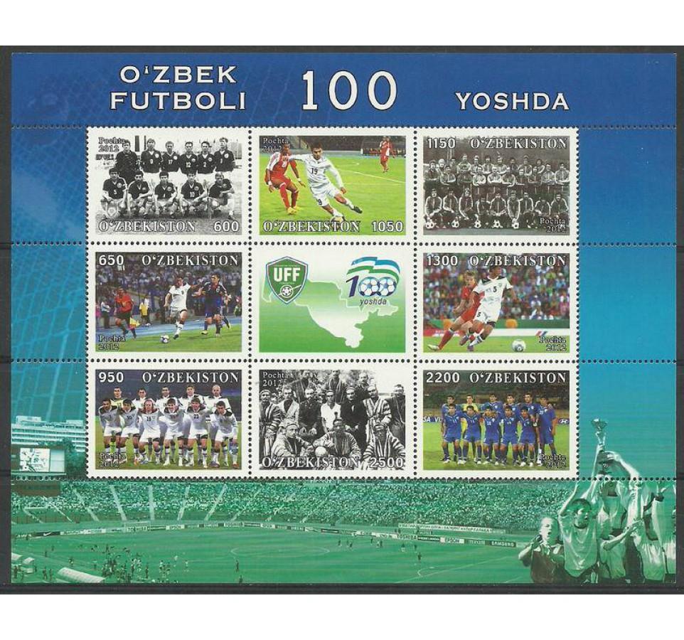 Uzbekistan 2012 Mi ark 1034-1041 Czyste **