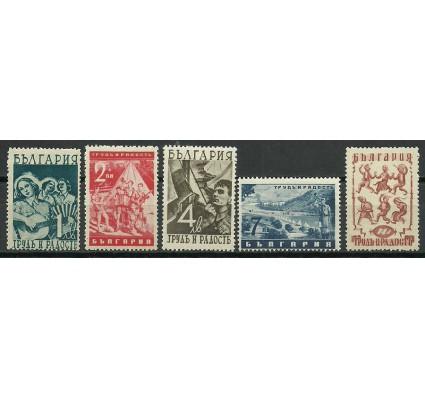 Znaczek Bułgaria 1942 Mi 437-441 Czyste **