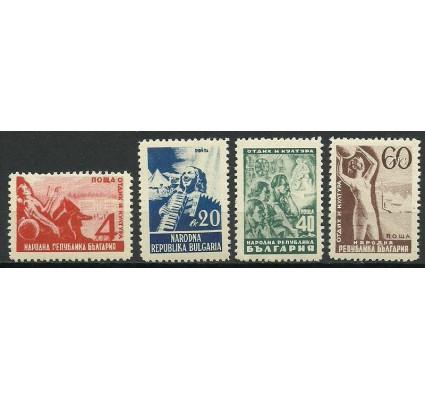 Znaczek Bułgaria 1948 Mi 646-649 Czyste **