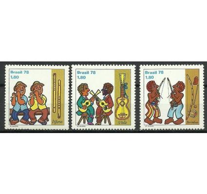 Znaczek Brazylia 1978 Mi 1662-1664 Czyste **