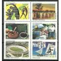 Brazylia 2005 Mi 3408-3413 Czyste **
