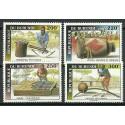 Burundi 1993 Mi 1774-1777 Czyste **