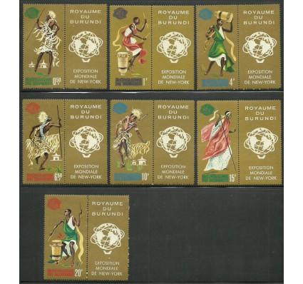 Znaczek Burundi 1964 Mi zf 109-115 Czyste **