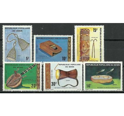 Znaczek Benin 1980 Mi 214-219 Czyste **