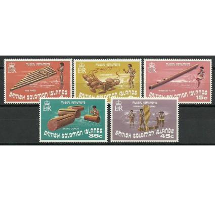 Znaczek Wyspy Salomona 1973 Mi 241-245 Czyste **