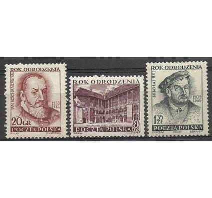 Znaczek Polska 1953 Mi 821-823 Fi 683-685 Czyste **