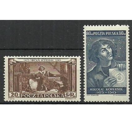Znaczek Polska 1953 Mi 805-806 Fi 667-668 Czyste **