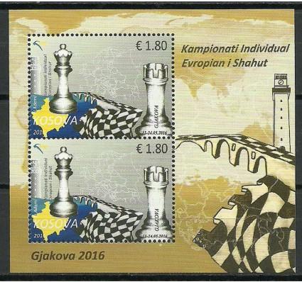 Znaczek Kosowo 2016 Mi bl 37 Czyste **
