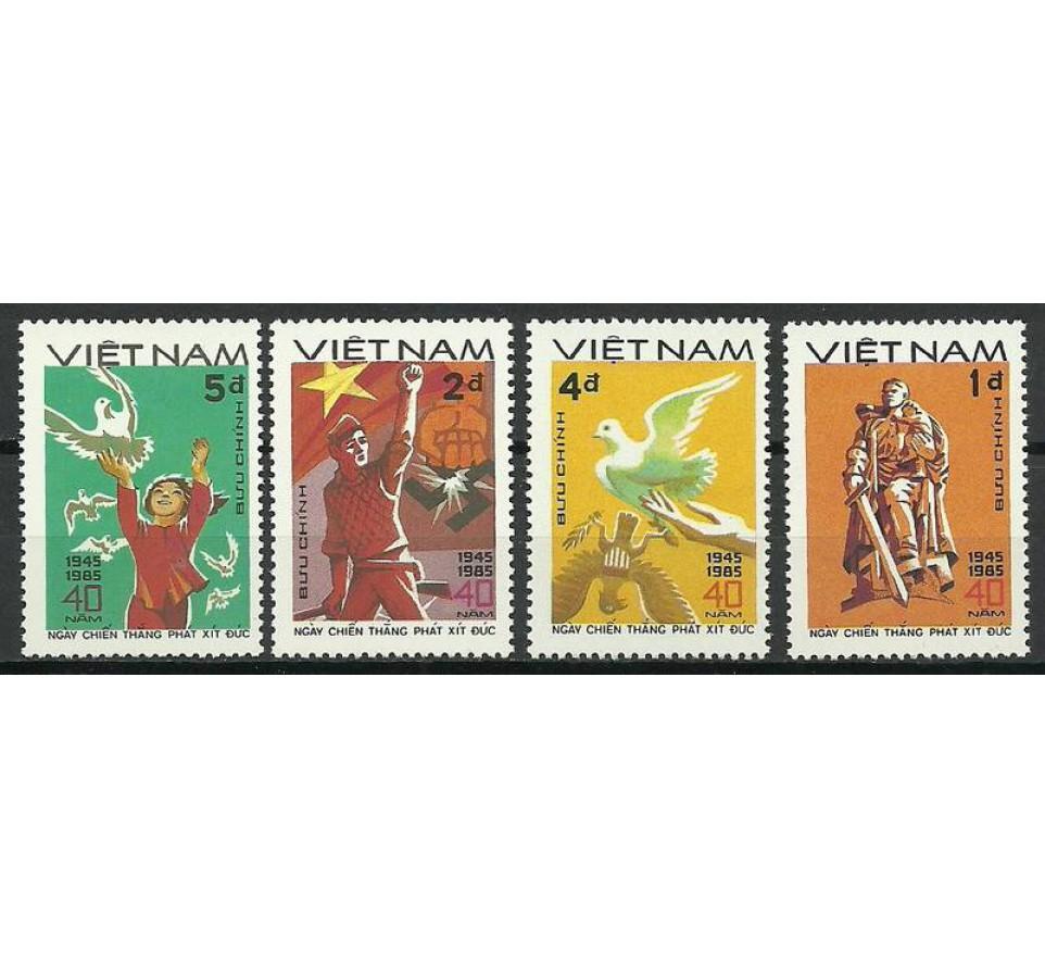 Wietnam 1985 Mi 1562-1565 Czyste **