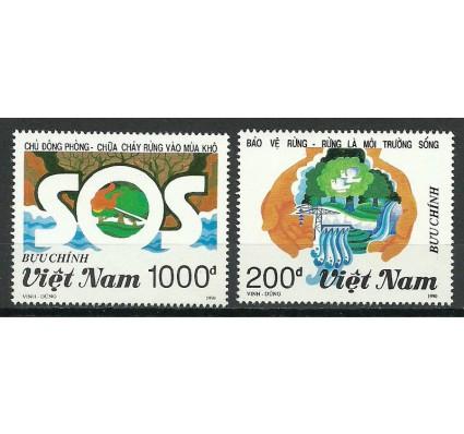 Znaczek Wietnam 1990 Mi 2273-2274 Czyste **
