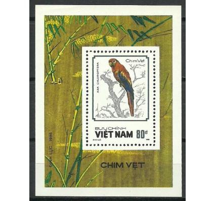Znaczek Wietnam 1988 Mi bl 61 Czyste **