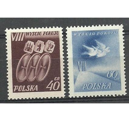 Znaczek Polska 1955 Mi 905-906 Fi 771-772 Czyste **