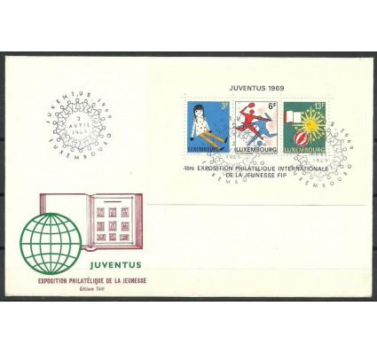 Znaczek Luksemburg 1969 Mi bl 8 FDC
