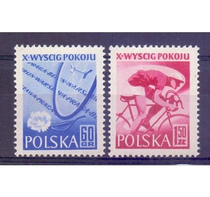 Znaczek Polska 1957 Mi 1015-1016 Fi 871-872 Czyste **