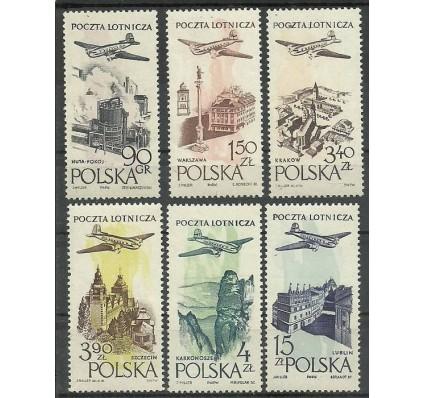 Znaczek Polska 1957 Mi 1035-1040 Fi 890-895 Czyste **