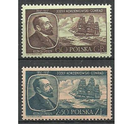 Znaczek Polska 1957 Mi 1043-1044 Fi 898-899 Czyste **
