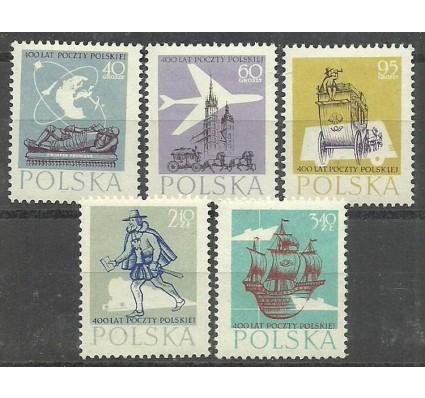 Znaczek Polska 1958 Mi 1063-1067 Fi 918-922 Czyste **