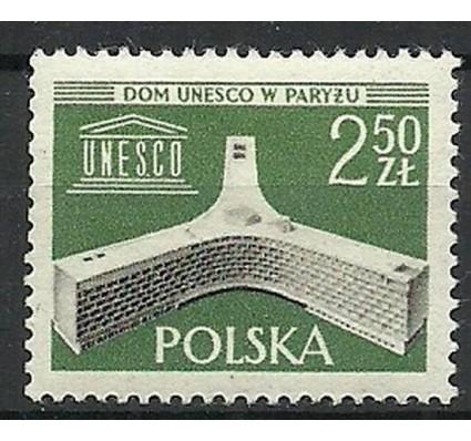 Znaczek Polska 1958 Mi 1075 Fi 930 Czyste **