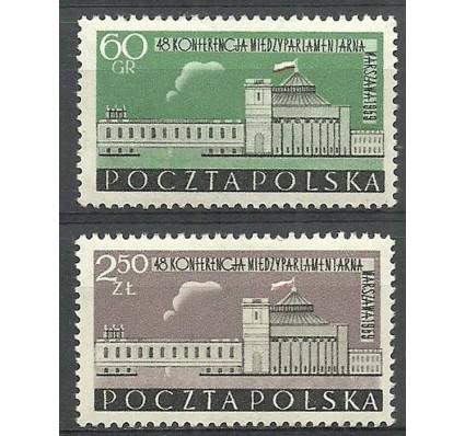 Polska 1959 Mi 1116-1117 Fi 972-973 Czyste **