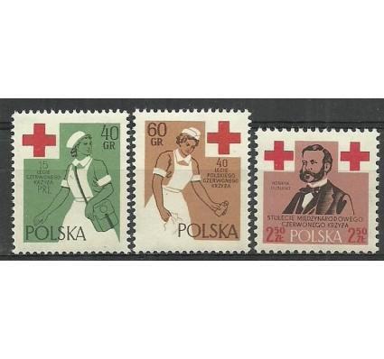 Znaczek Polska 1959 Mi 1120-1122 Fi 976-978 Czyste **