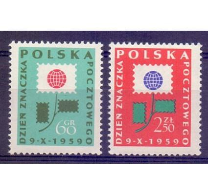Znaczek Polska 1959 Mi 1125-1126 Fi 981-982 Czyste **