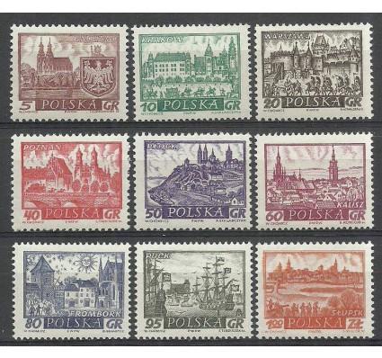 Znaczek Polska 1960 Mi 1188-1196 Fi 1044-1052 Czyste **